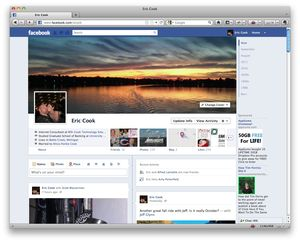 Ecook-facebook-timeline