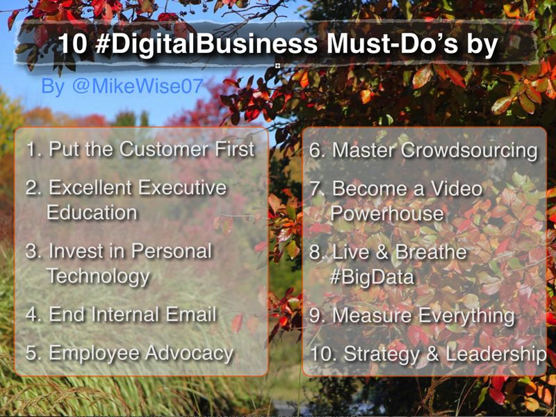 Digital-must-dos